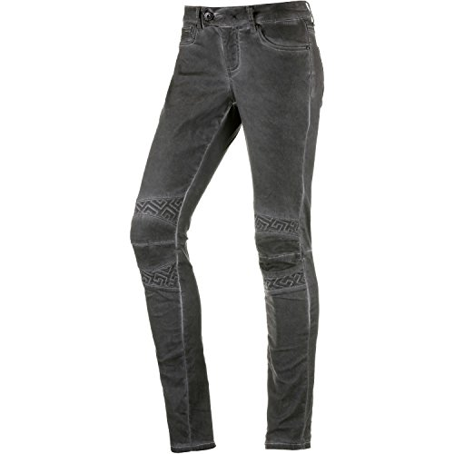 Damen Skinny Fit Jeans grau 30 / 32