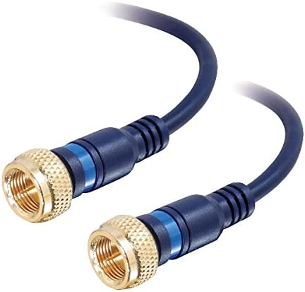 C2G Cables to Go 40003 Velocity Cable F-Type Mini-Coax High order Latest item 1 Blue