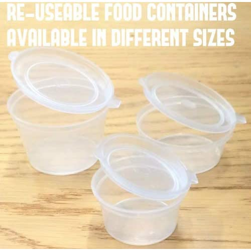 1 Oz Containers With Lids Amazoncouk