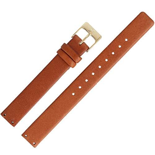 Skagen Uhrenarmband 12mm Leder Braun - SKW2175