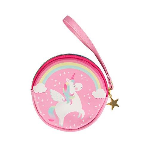Sass & Belle Monedero arco iris unicornio para niñas Talla única Rosa