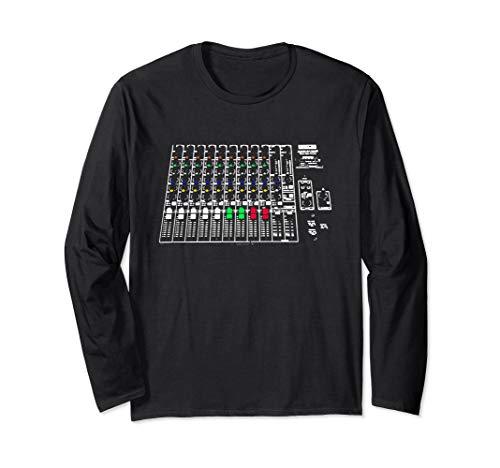 Audio Engineer Soundboard   Coole Musikproduzenten-Ausrüstun Langarmshirt