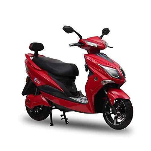 Scooter eléctrico Doble dinámico Hawk Lithium Ecológico Sunra 1800W Alcance máximo 65km Carga 4-6 Horas Altavoz Bluetooth