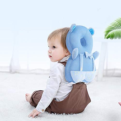 Babykopfkissen,Helm Schutz,Rucksack,Neugeborene Baby Kopfschutz Safety Pad Kissen zurück Verhindern Sie verletzte Cartoon Kleinkind Baby Mädchen Jungen Sicherheitskissen 32 * 18cm