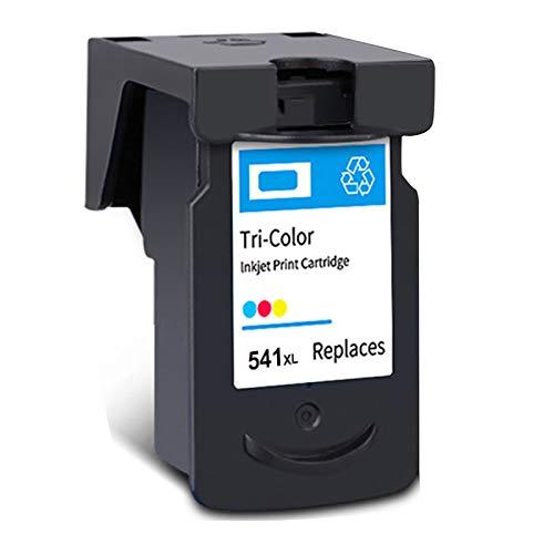 Cartucho de tinta PG-540XL CL-541XL, repuesto de alto rendimiento para impresora Canon Pixma MG2250, MG3150, MX375, MX395, MX515, TS5150, TS5151, negro y tricolor, 1 tricolor