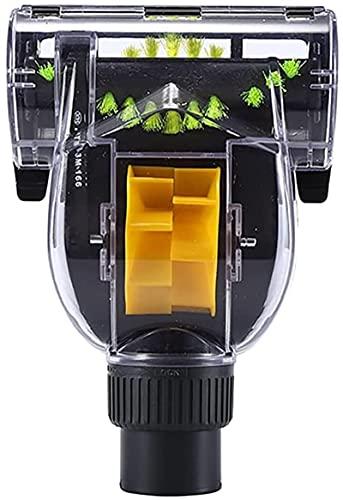 LLXXD Cabezal de succión Turbo de Repuesto, Cabezal de Cepillo de Piso, Cabezal de Cepillo de eliminación de ácaros para Accesorios de aspiradora Karcher VC3 Piezas de Repuesto