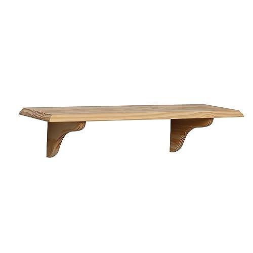 Fabulous Unfinished Wood Shelves Amazon Com Interior Design Ideas Tzicisoteloinfo