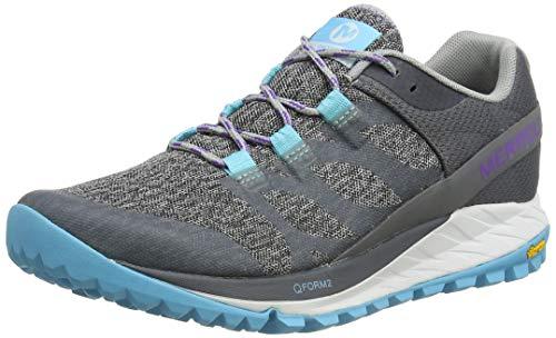 Merrell Antora, Zapatillas de Running para Asfalto para Mujer, Gris (High Rise), 42 EU