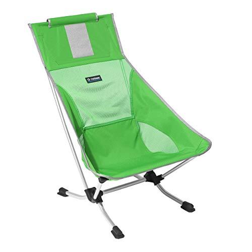 Helinox Beach Chair,Strandstuhl,Campingstuhl,Aluminium,leicht,stabil,faltbar,inkl Tragetasche,Clover,one Size