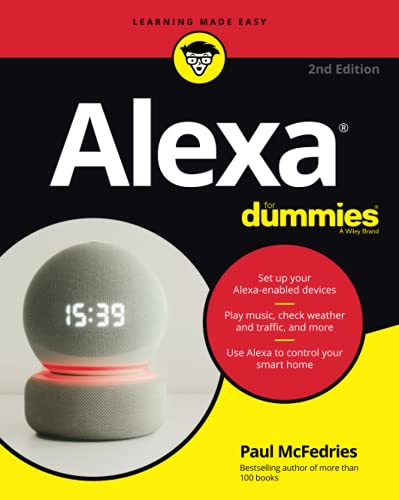 Compare Textbook Prices for Alexa For Dummies For Dummies Computer/Tech 1 Edition ISBN 9781119822080 by McFedries, Paul