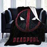 Lstardust Dead-Pool Soft Fuzzy Light Weight Warm Blanket for Bed Couch Chair Fall Winter Spring Living Room Multiple Sizes,60'' x50