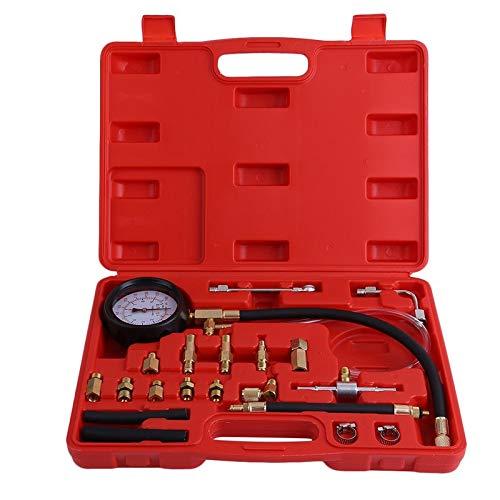 BianchiPamela 0-140 PSI Fuel Injection Pump Injector Tester Pressure Gauge Gasoline Car Tool