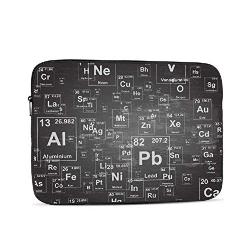 Macbook Air Laptop Cover Chemical Elements Laptop Shell Multi-Color & Size Choices10/12/13/15/17 Inch Computer Tablet Briefcase Carrying Bag