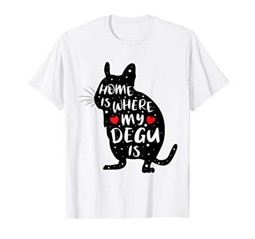 Schönes, liebenswertes Shirt mit Degu - Nager T-Shirt