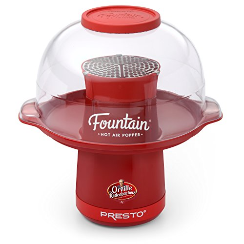 Presto 04868 Orville Redenbacher's Fountain Hot Air Popper by Presto, Red