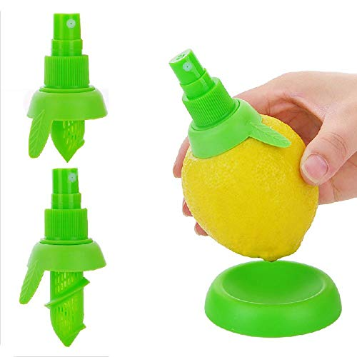 DZDESIGN 2 Unid/Set Rociador de Limón Jugo de Fruta Exprimidor de Lima Cítrica Spritzer Gadgets de...