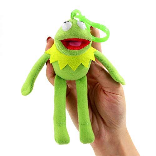 Youhj Sesamstraße Kermit Frosch Bagpack Plüsch Mini Anhänger Spielzeugpuppen Schlüsselanhänger Kinder 13Cm