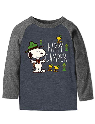 Toddler Boys 2T-5T Snoopy Happy Camper Graphic Tee
