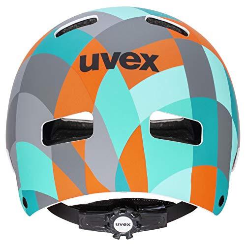 uvex Unisex Jugend Kid 3 cc Kinderfahrradhelm, Grün, 51-55 - 3
