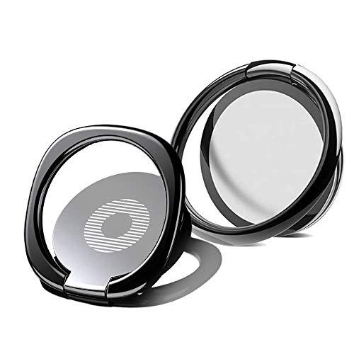 【2個入り】スマホリング 薄型 180度360度回転式 落下防止 リングホルダー 角度調整可能 粘着性が良い すまほ りんぐ 携帯リング 指輪型 iPhone 11/11pro/11pro max/XS/XS Max/XR/X/8/8Plus/7/7Plus/6s/6s Plus/Sony/Samsung/Huawei/Android各種対応