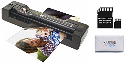 Amazing Deal Vupoint ST470 Magic Wand Portable Scanner w/Auto-Feed Docking Station (Black) (Renewed)
