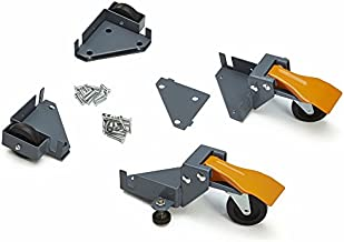 Bora Portamate Mobile Base Kit PM-1100 - Heavy Duty, Universal, Customizable, Adjustable Rolling Set, Dolly Roller Frame and Casters for Moving Equipment, Tools, Machines - 400 lb Capacity
