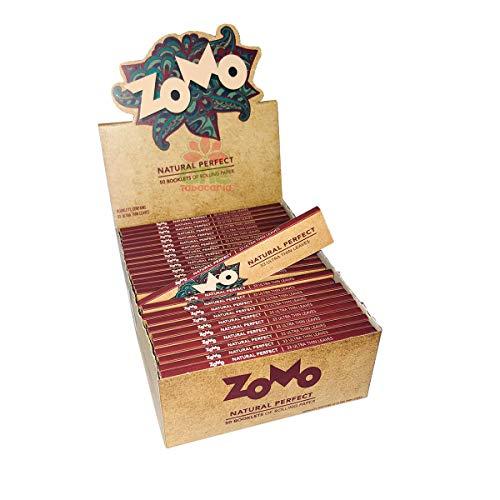 Caixa de Seda Zomo Brown Natural Perfect King Size C/50