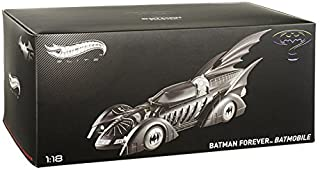 Hotwheels Elite 1:18 Scale Batman Forever Batmobile