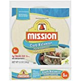 Mission Foods Carb Balance Flour Tortillas (8 ct., 12 oz.) (pack of 6)