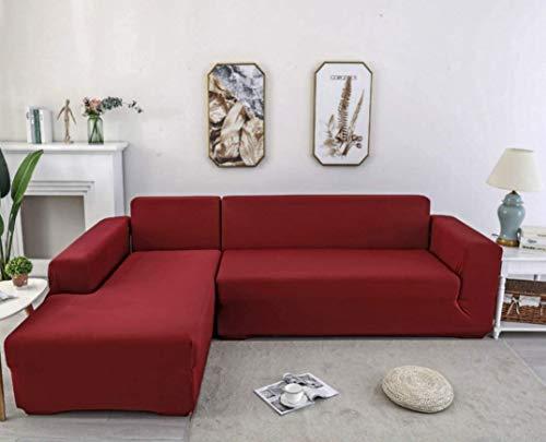 X-ZBS Sofabezug, L-Form, elastischer Sofabezug (L-förmiges Ecksofa muss zweimal gekauft werden)