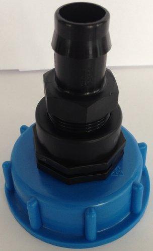 CMTech GmbH Montagetechnik CM133187 Kappenverschraubung S60x6 mit verschraubten Fitting IG 3/4