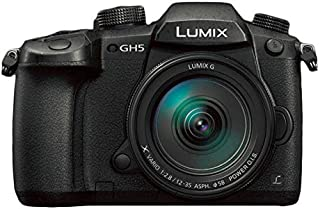 Pansonic DC-GH5A 12-35mm, 20.3MP, Mirrorless Camera, Black