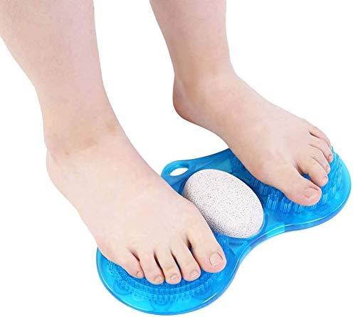 Voet reinigingsmiddel, Acupressure voetenmasker voet Reinigingsmiddel pedicure Voeten te verwijderen hardheid, eelt en harde huid en schrale huid, pedicure en afvoerinrichting te verzachten, Zuivering