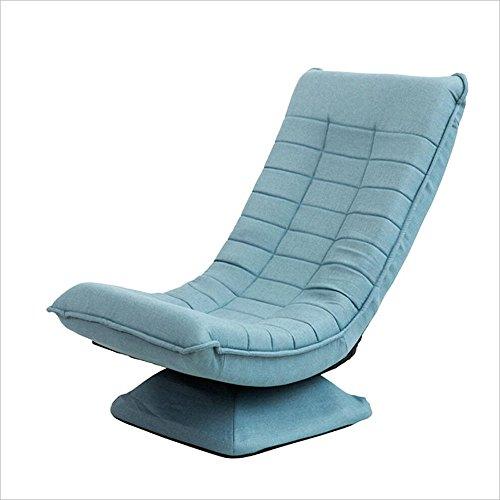 Chaises pliantes Xiaolin Chaise Simple Chaise Lune Chaise Paresseuse Chaise Pause Déjeuner Chaise Lounger Chaise (Couleur : Blue)