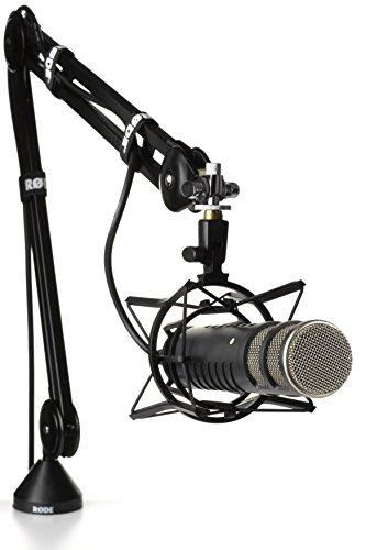 Rode PSA1 Braccio Portamicrofono da Studio Professionale, Nero