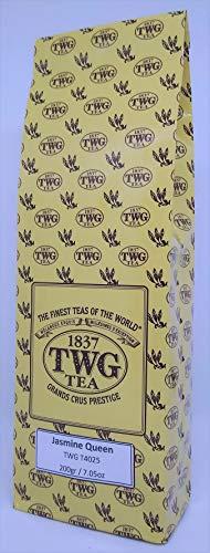 TWG Singapore - Luxury Teas - Jasmine Queen Tea - 7.05oz / 200gr Loose Leaf Bulk bag