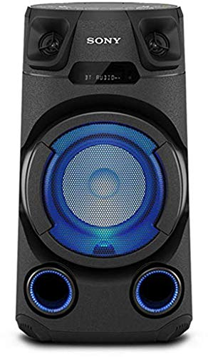 Sony MHC-V13 Leistungsstarkes Audiosystem (150 Watt Ausgangsleistung, Mega Bass, Bluetooth und NFC) Schwarz