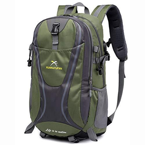 DWGYQ USB Chargement Voyage Sac d'alpinisme en Plein air, Grande capacité de Sport Sac à Dos de Camping des Fournitures appropriées pour Les Hommes et Les Femmes,L2