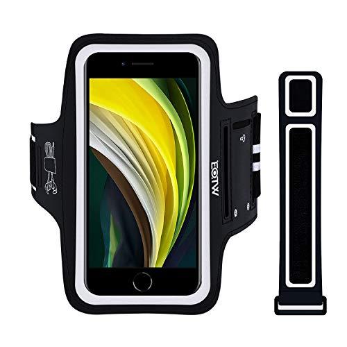 EOTW Sportarmband Handyhülle Kompatibel mit Neu iPhone SE 2020/11 Pro/X/XS/7/8/6, Huawei P20/ P20 Lite, Handytasche Sport für Joggen Laufen Schwarz 4.7''-5.8''