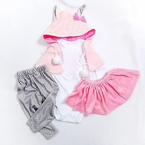 MineeQu 5 Stili diversi Due dimensioni 47 o 60cm Bambole appena nate di alta qualità Vestire...