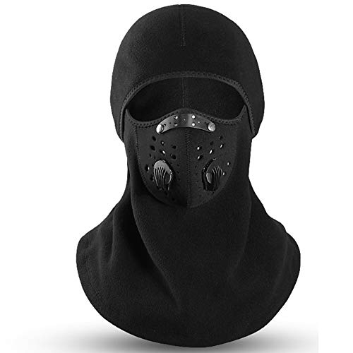 Joe Boxer Ski-Maske, Winter Radmütze Fleece Thermal warm halten windundurchlässige Radfahren Gesichtsmaske Skiing Skating Hut Kopfbedeckung