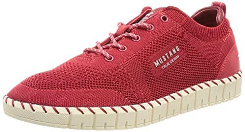 MUSTANG Damen 1379-301 Sneaker, Rot, 38 EU