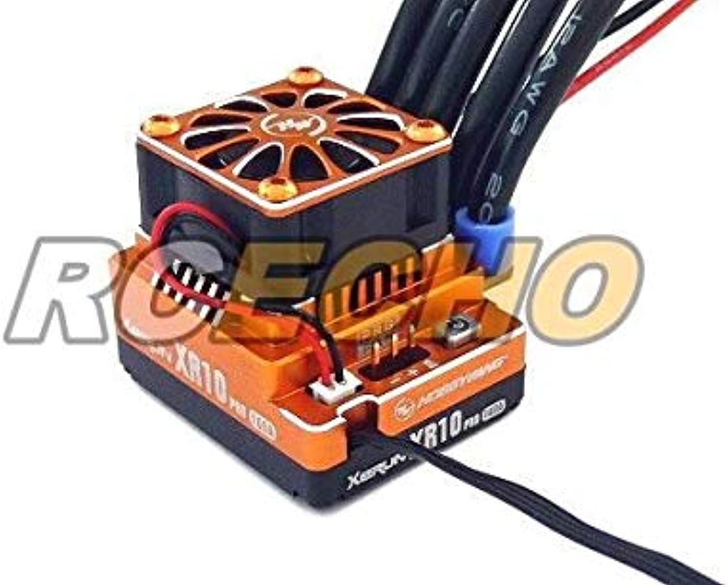 RCECHO& 174; HOBBYWING XERUN Orange XR10 PRO 160A Brushless Motor ESC Speed Controller SL263 with 174; Full Version Apps Edition