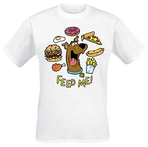 Scooby Doo Feed Me T-Shirt Bianco M