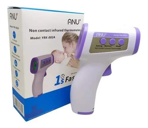 Termômetro Digital De Testa Infravermelho Febre Corporal