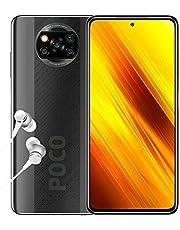 "Xiaomi POCO X3 NFC, Smartphone 6+128GB, display 6,67"" FHD+, Snapdragon 732G, 64MP AI Quad-Camera, batteria 5160mAh, Grigio (Shadow Gray) (Versione ufficiale)"