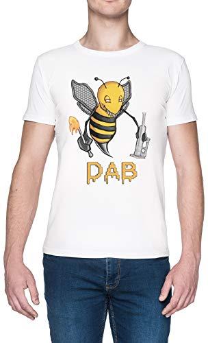 Bee Dab Weißes Damen T-Shirt White Men's Tee