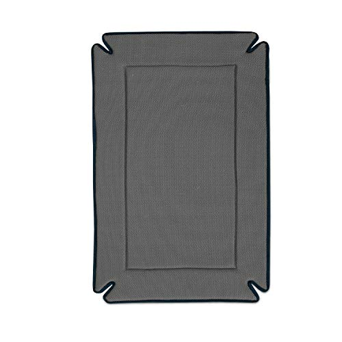 K&H PET PRODUCTS Odor-Control Crate Pad Gray Large 25 X 37 Inches