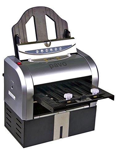Pavo 8717448055821 - Plegadora (A4-A5, 60-130 gsm, capacidad 100 hojas), plateado