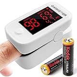 Saturimetro, Pulsossimetro, Ossimetro, monitor della saturazione dell'ossigeno nel sangue SpO2 della...